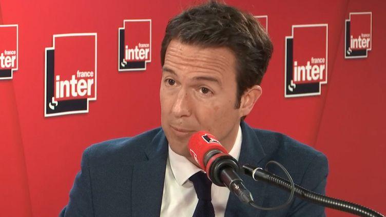 Guillaume Petlier, sur France Inter, le 26 février 2019. (France Inter)