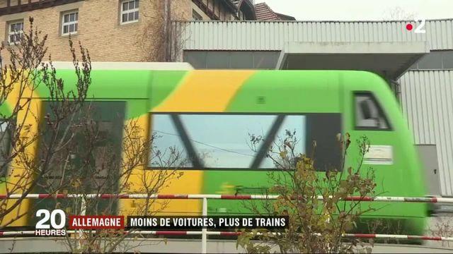 Allemagne : moins de voitures grâce à de petites lignes de train rouvertes