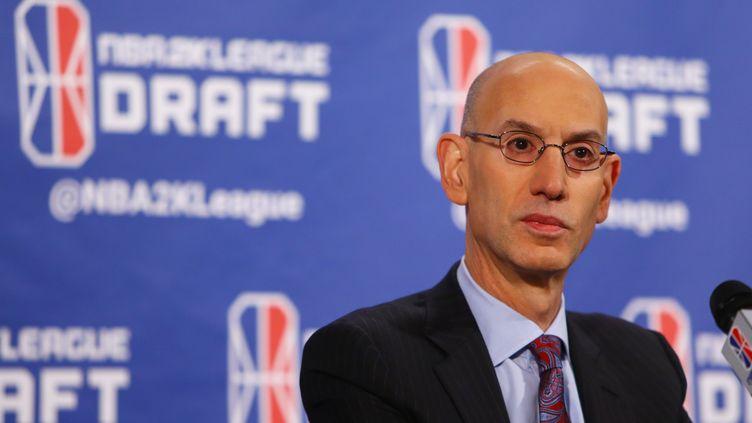 Adam Silver, boss de la NBA (MIKE STOBE / GETTY IMAGES NORTH AMERICA)