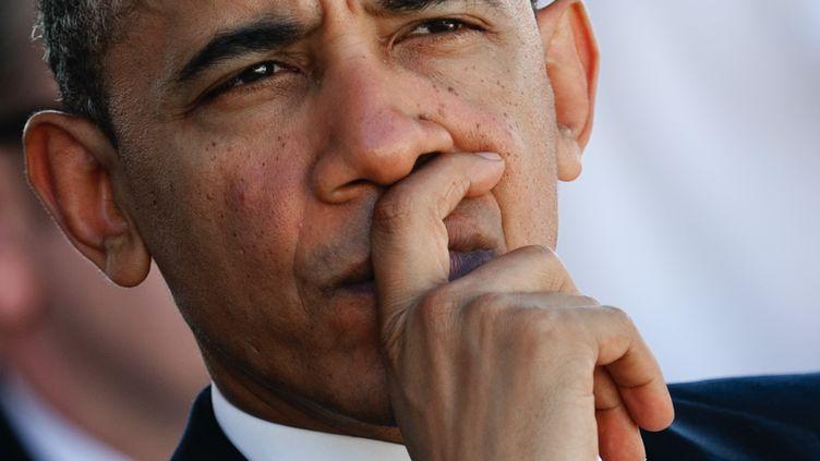 Le président américain, Barack Obama, à Honolulu, dans l'archipel d'Hawaï, le 23 décembre 2012. (JIM WATSON / AFP)