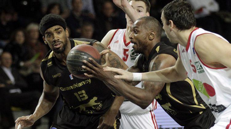 Le derby entre Strasbourg et Nancy (JEAN MARC LOOS / MAXPPP)