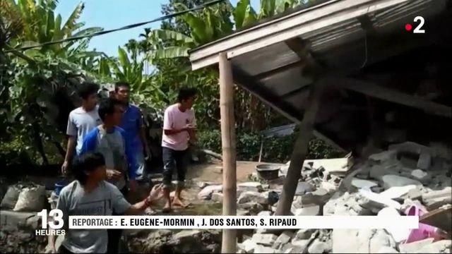 Indonésie : des randonneurs bloqués en altitude après un séisme