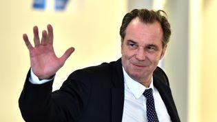 Renaud Muselier, le 9 mai 2017, à Paris. (CHRISTOPHE ARCHAMBAULT / AFP)