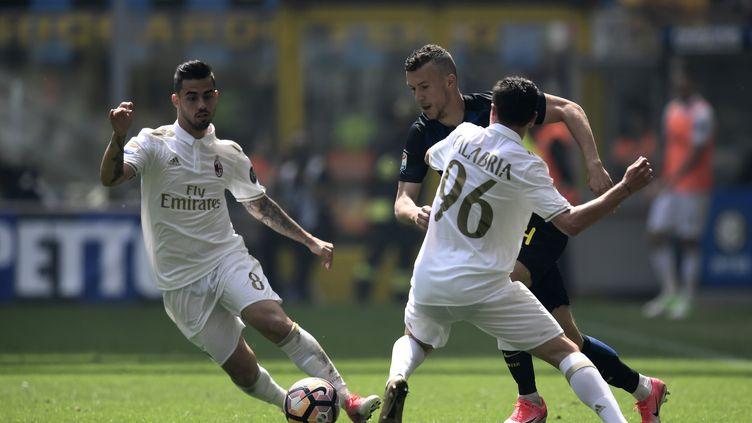Pas de vainqueur dans le derby milanais (MIGUEL MEDINA / AFP)
