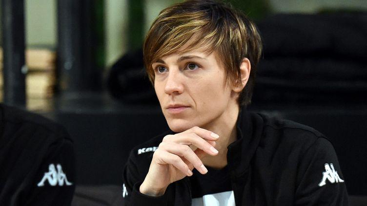 Céline Dumerc, le 8 février2016. (MAXPPP)