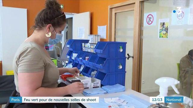 """Paris : feu vert donné pour l'installation de nouvelles """"salles de shoot"""""""
