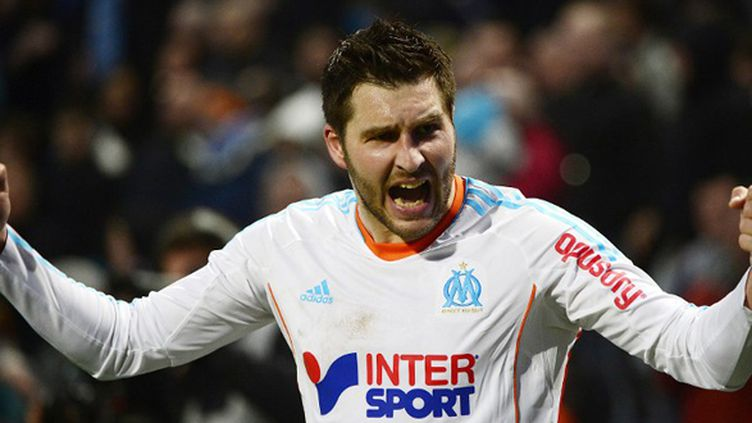 L'attaquant marseillais André-Pierre Gignac  (BORIS HORVAT / AFP)
