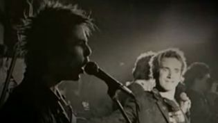 Les Sex Pistols en 1977  (capture YouTube)