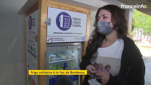 L'université Montaigne de Bordeaux met en place un frigo solidaire pour lutter contre la précarité étudiante et le gaspillage.