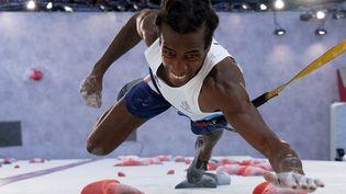 Le Français Mickael Mawem, qualifié pour la finale du combiné olympique à Tokyo, le 3 août 2021. (MOHD RASFAN / POOL)