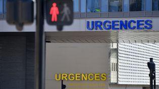 La façade du service des urgences du CHU de Nantes (Loire-Atlantique). (LOIC VENANCE / AFP)