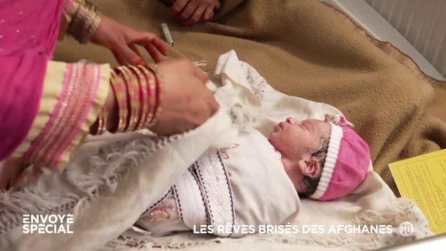 Envoyé spécial dans une maternité de Kaboul, avant l'arrivée des talibans