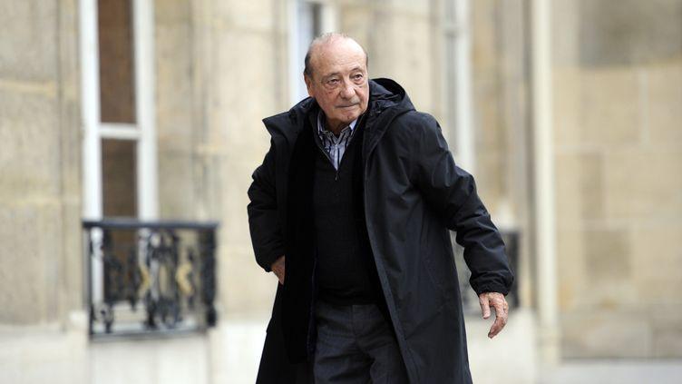 Le publicitaire Jacques Séguéla en janvier 2011 à l'Elysée. (LIONEL BONAVENTURE / AFP)