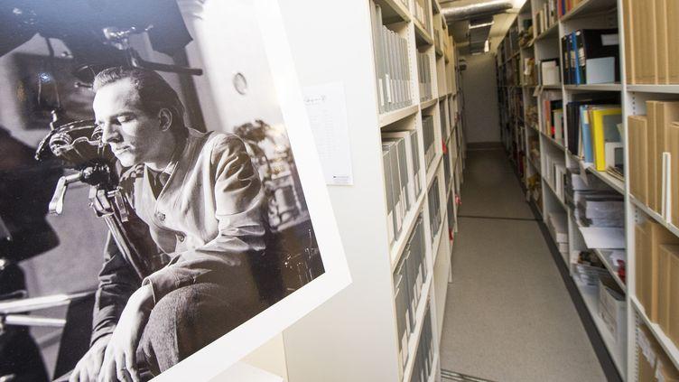 Les archives d'Igmar Bergman à la maison du film de Stockholm, le 8 nov 2016  (JONATHAN NACKSTRAND / AFP)