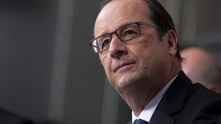 François Hollande, le 24 novembre 2014 à Florange (Moselle). ( PHILIPPE WOJAZER / REUTERS)