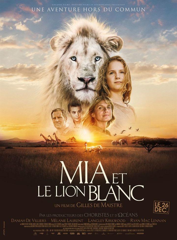 """Affiche de """"Mia et le Lion Blanc"""""""