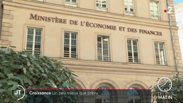 Économie : la récession sera moins importante que prévu selon Bercy