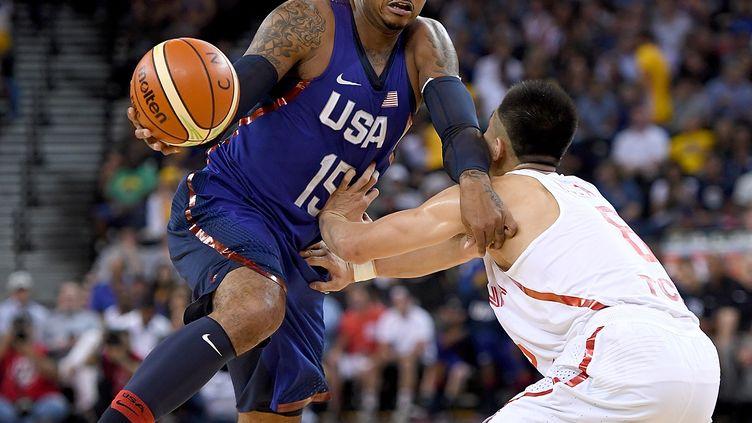 Carmelo Anthony, auteur de 20 points lors de la victoire des Etats-Unis face à la Chine. (THEARON W. HENDERSON / GETTY IMAGES NORTH AMERICA)