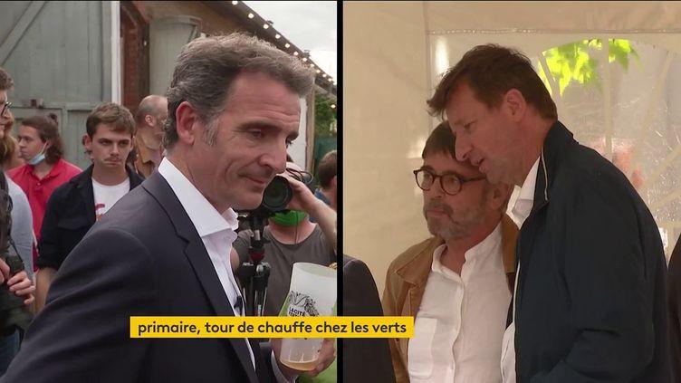 Eric Piolle et Yannick Jadot (FRANCEINFO)