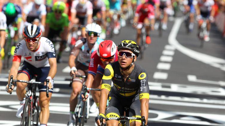 Bryan Coquard recule dans la hiérarchie du sprint sur ce Tour 2016 (MATTHIEU DE MARTIGNAC / MAXPPP)