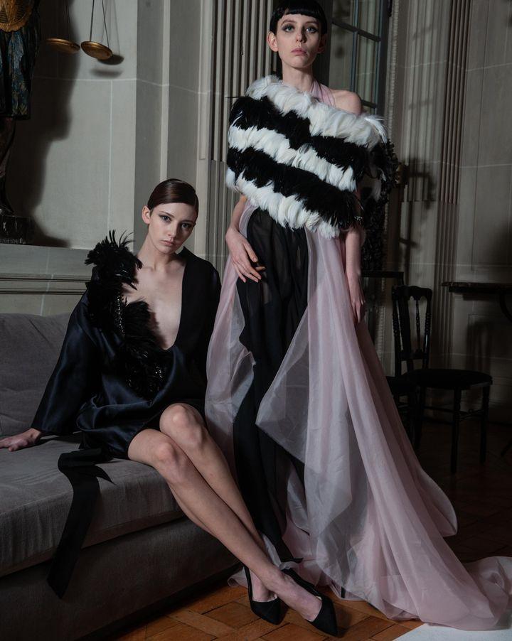 Défilé Aélis couture printemps-été 2019 (THIERNO SY)