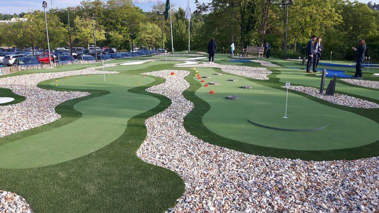 Nouvel espace de jeu au golf Blue Green de Reuil Malmaison (Fabrice Rigobert Radio France)