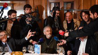 Jean-Paul Dubois, Goncourt 2019 (ALAIN JOCARD / AFP)
