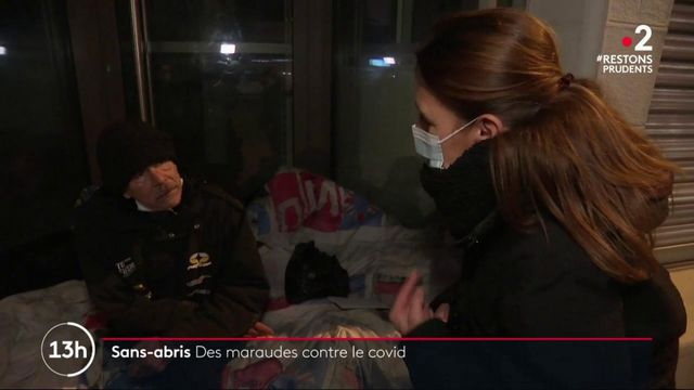 Coronavirus : des maraudes pour inciter les sans-abris à se faire dépister