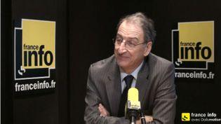 (Denis Masseglia est à la tête du mouvement sportif olympique Français le CNOSF depuis 2009  © Capture d'écran)