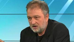 Denis Robert était l'invité du Grand Soir 3 lundi 9 février. (CAPTURE D'ÉCRAN FRANCE 3)