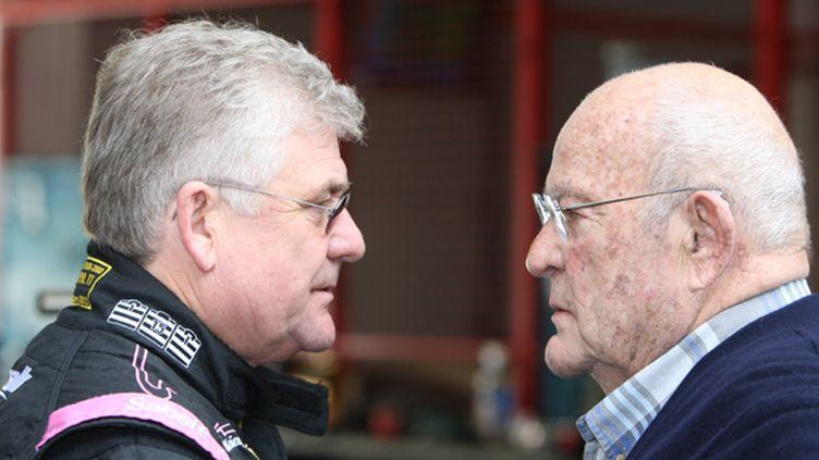 Jacques Nicolet et Guy Ligier associés