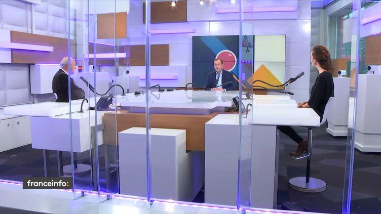 Les débats de l'éco du dimanche 27 septembre 2020. (FRANCEINFO / RADIOFRANCE)
