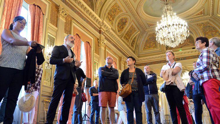 LesJournées du patrimoine à Rennes, dans l'hôtel de la préfecture de région, le 15 septembre 2018. (JOEL LE GALL / MAXPPP)