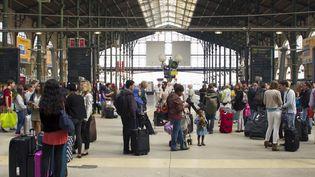Le hall de la gare du Nord à Paris, le 27 avril 2017. (JACQUES LOIC / PHOTONONSTOP / AFP)