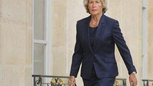 Caroline Cayeux arrive au palais de l'Elysée, à Paris, le 18 septembre 2018. (LUDOVIC MARIN / AFP)