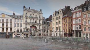 Les rues se vident, les rideaux des boutiques sont baissés : lundi 2 novembre, à Lille(Nord), les effets du confinement sont visibles. (CAPTURE D'ÉCRAN FRANCE 3)
