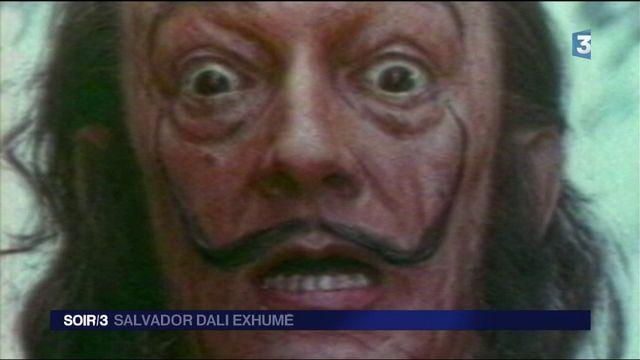 Espagne : Salvador Dali exhumé 28 ans après son décès