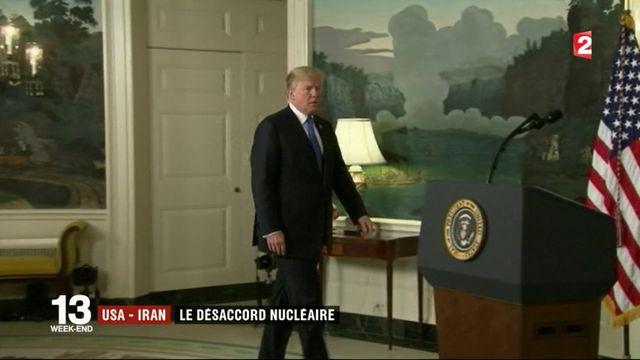États-Unis - Iran : le désaccord nucléaire