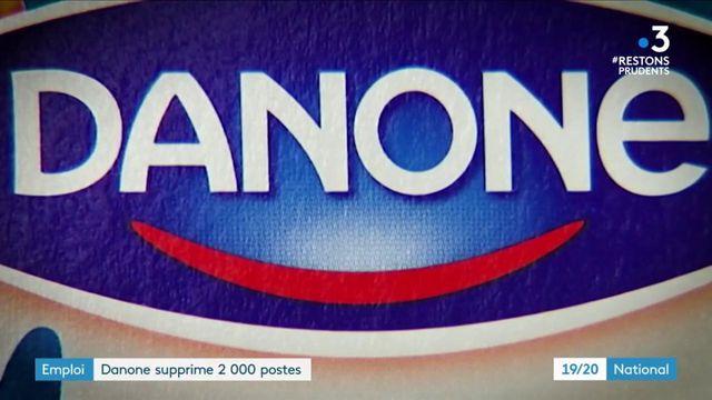 Emploi :Danone se sépare de 2 000 postes dans le monde