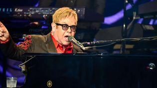 Elton John en concert à Henley on Thames, en Angleterre, le 6 juillet 2016  (Alan West / Wenn.com / Sipa)