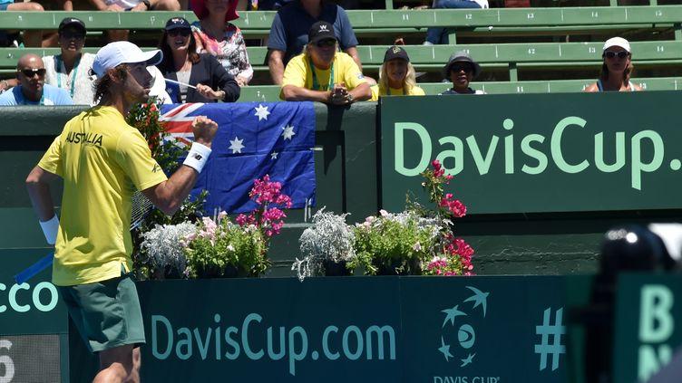 Le joueur australien Jordan Thompson (PAUL CROCK / AFP)