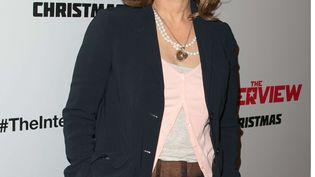 L'ex-coprésidente de Sony Pictures, Amy Pascal, le 11 décembre 2014 à Los Angeles (Etats-Unis). (BT1 / WENN.COM / SIPA)
