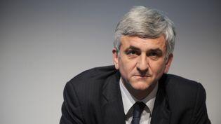 Hervé Morin participe à un débat sur l'Europe à Nantes (Loire-Atlantique), le 20 janvier 2012. (FRANK PERRY / AFP)