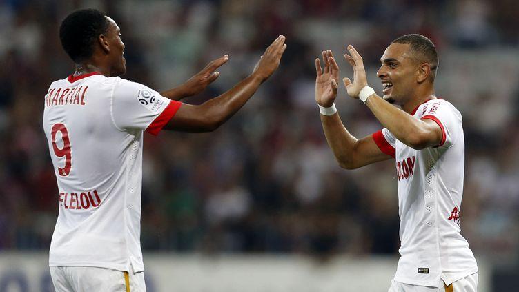 En quittant Monaco, Kurzawa et Martial ont agité la fin du mercato estival  (VALERY HACHE / AFP)