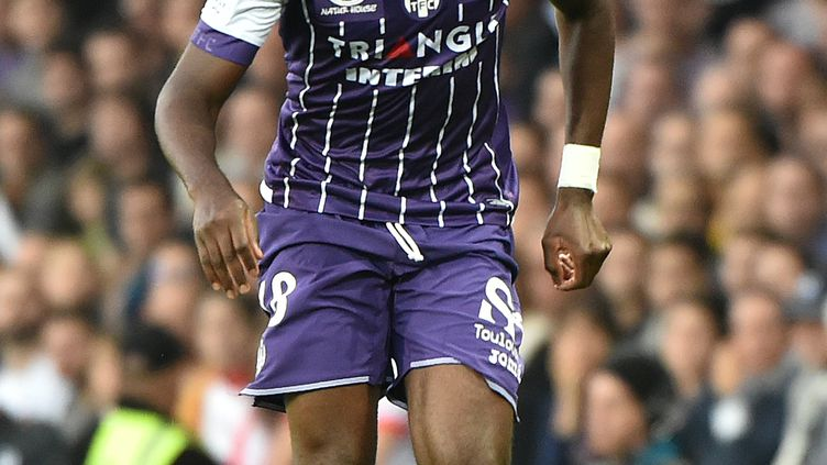 Le joueur du TFC, Odsonne Edouard (REMY GABALDA / AFP)