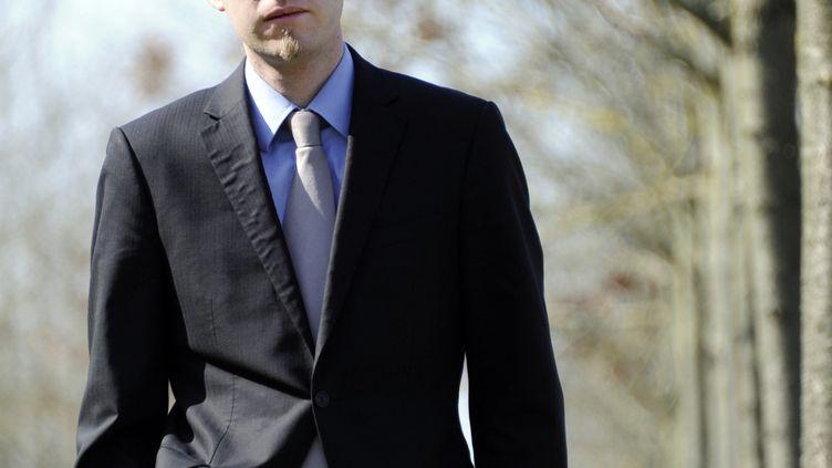 Marc Hervé, en 2010, à Rennes.  (DAMIEN MEYER / AFP)