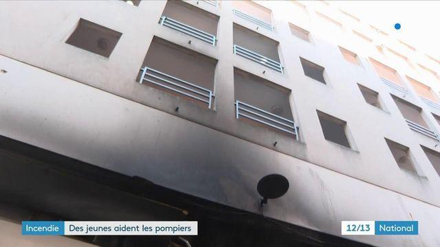 Seine-Saint-Denis : un incendie se déclare, des jeunes aident à évacuer