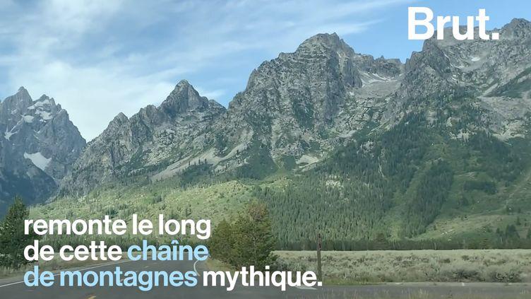 VIDEO. Aux États-Unis, un itinéraire propose le road trip parfait dans les Rocheuses (BRUT)