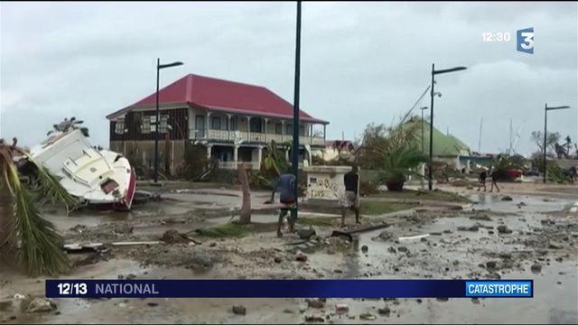 Après l'ouragan Irma, le chaos à Saint-Martin