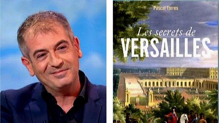 """Pascal Torres auteur du livre """"Les secrets de Versailles"""" invité du journal de France 2  (France 2 / Culturebox)"""